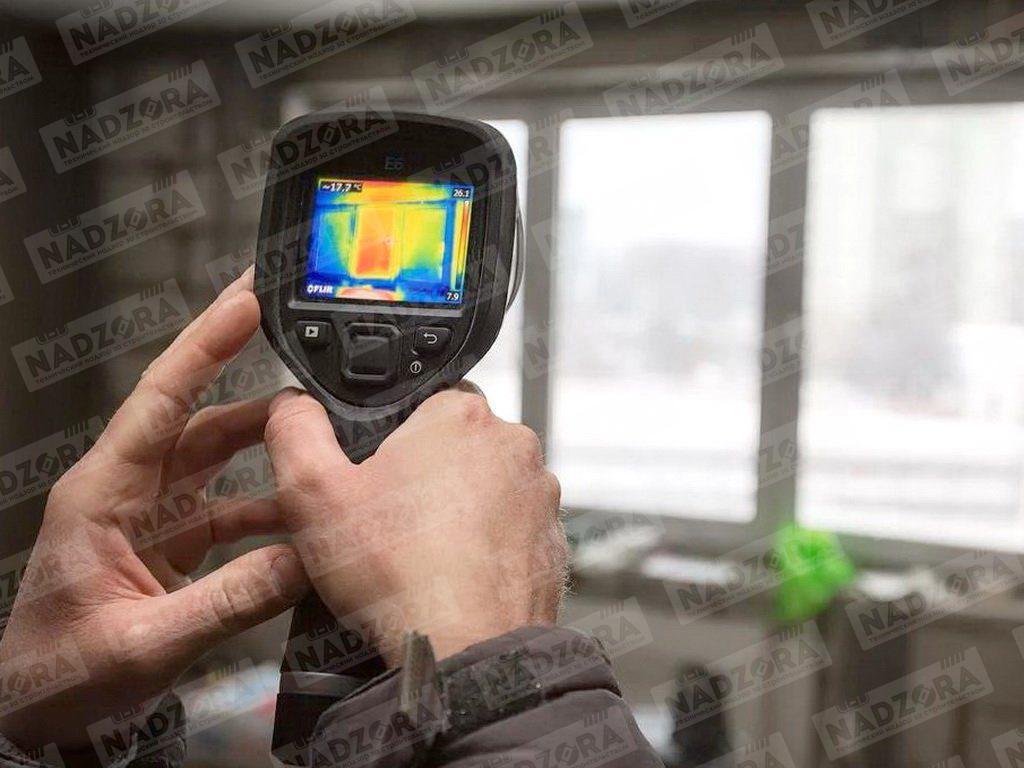 Проверка выполнения изоляционных работ с помощью тепловизора